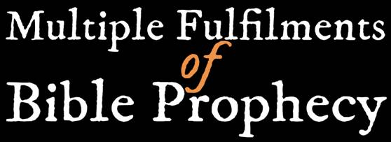 Multiple Fulfilments of Bible Prophecy banner